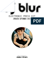 Dj Blur Press Kit Updated SEPT 2012 (PDF)