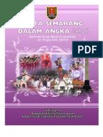 Kota Semarang Dalam Angka Tahun 2010