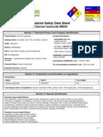 xMSDS Calcium Hydroxide 9927122