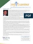 Academy Fall 2012 Newsletter