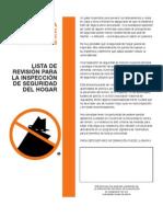 HomeSecurityChecklist Espanol