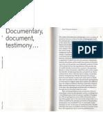 Chevrier - Documentary Document Testimony