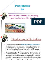 Futures- Meaning, Types, Mechanism, SEBI Guidelines