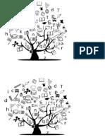 árvore com desenhos_início ano