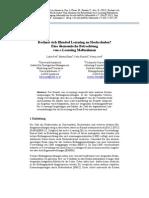 Rechnet sich Blended Learning an Hochschulen? Eine ökonomische Betrachtung von e-Learning Maßnahmen