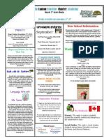 Newsletter 9-21-2012