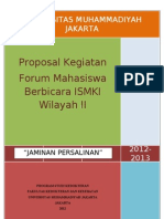 Proposal Jampersal