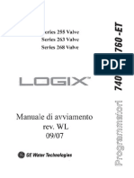 Manuale Logix 740-760 Water Line