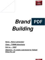 Brand Building Project