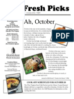 October2012 Newsletter