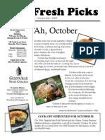 October2012 Newsletter