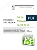 Manual Excel 2010 Nivel Intermedio
