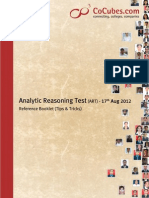 Analytical Reasoning Tips