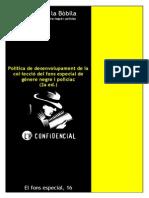 Política de desenvolupament de la col·lecció del fons especial de gènere negre i policíac