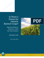 Greg Conko - Is There a Future for Generic Biotech Crops