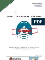 Informe Inaplicabilidad de Las Leyes