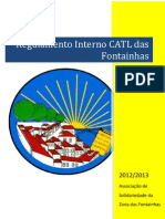 Regulamento Interno CATL 2012-2013