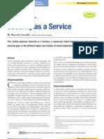 SECaaS –  Security as a Service