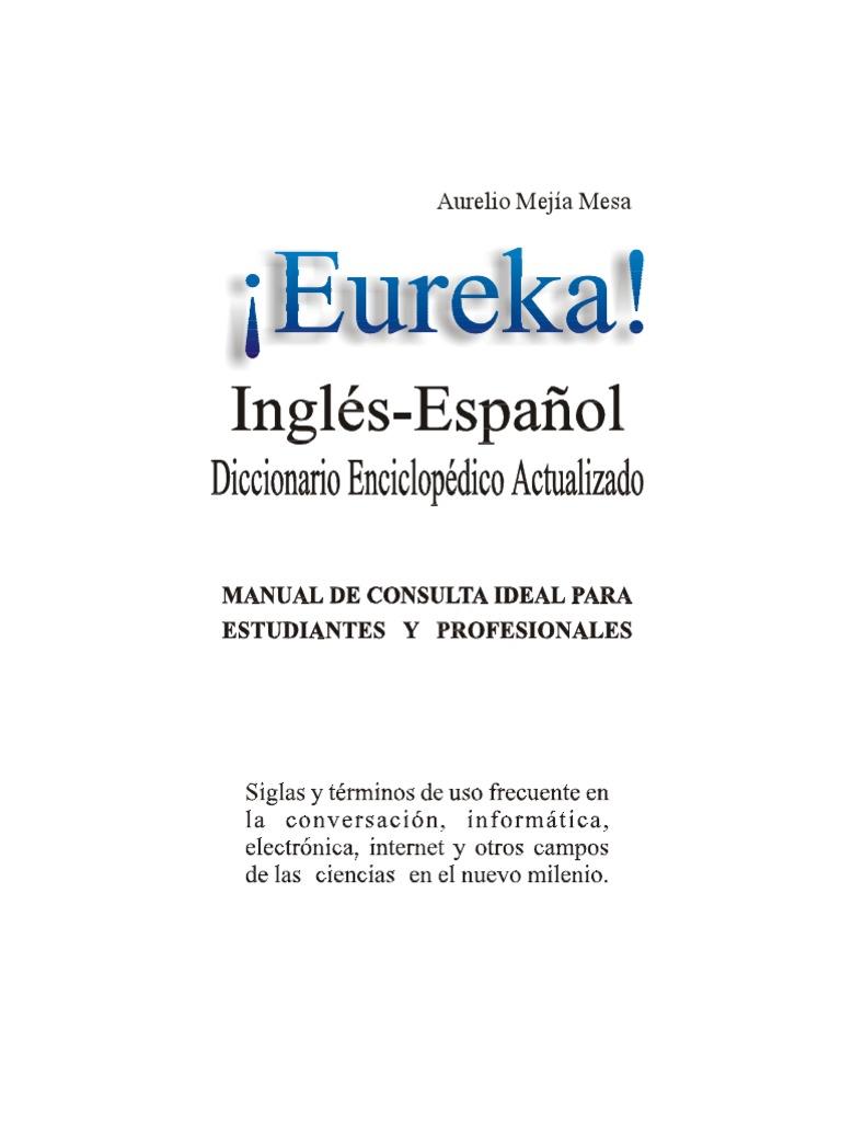 Diccionario (Ingles-Español) Técnico Eureka 45770f52cbb