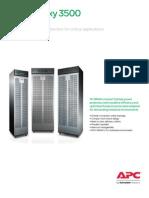 MGE Galaxy 3500 Brochure