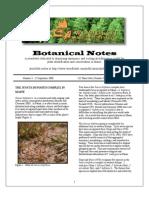 Botanical Notes 3