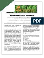 Botanical Notes 5