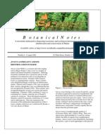 Botanical Notes 6