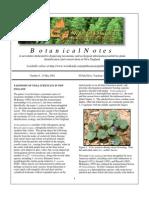Botanical Notes 8