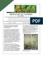 Botanical Notes 12