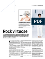Migros Magazine (FR) 17.09.12