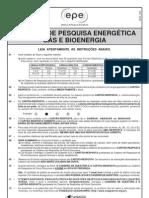 Prova EPE Gas e Bioenergia