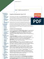 Developmental Psychology_ Cognitive Development_ Age 12–19