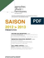 Saison 2012 > 2013