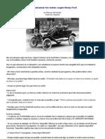 Como alcanzar tus metas según Henry Ford