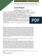 Hanson Et Al (2009)- Warfare in Biodiversity Hotspots