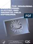 Manual for Measuring Occupational Electric and Magnetic Field Exposures_98-154