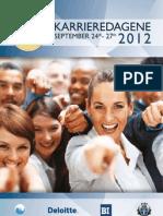 Karrieredagene 2012 - Katalog