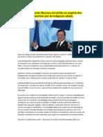 Nome de Durão Barroso envolvido no negócio dos submarinos por investigação alemã