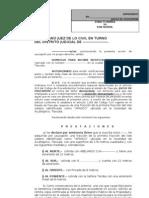 JUICIO DE USUCAPIÓN