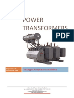 Power Transformers Test
