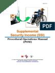 DC CFSA Supplemental Security Income Procedural Operations Manual (April 2011)