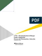 CT16 - Documentación de riesgos_ Priorización y Selección_10Sep2012