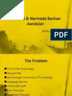 Garfield & Narmada Bachao Aandolan