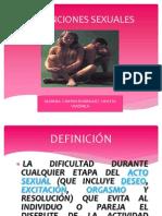 DISFUNCIONES SEXUALES