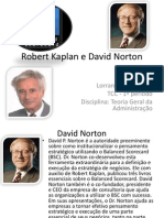 Robert KaplaneDavid Norton