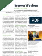 Het Nieuwe Werken vraagt om nieuw leiderschap / Alternative Working Practices ask for new leadership