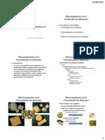 Microbiologia de Los Alimentos II