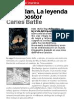 Dossier de prensa Kárvadan Cast