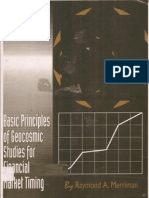Basic Principles of Geocosmic Studies for Financial Market Timing 1997