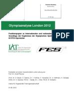 IAT Olympiaanalyse London 2012 Positionspapier